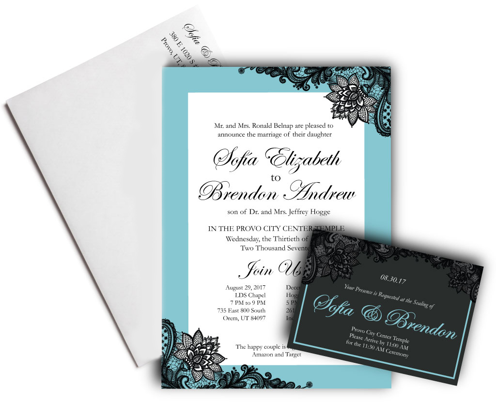 About the Print. Wedding and Event Invitations